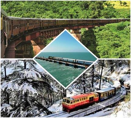 भारत के 8 खतरनाक Train Route, सफर के दौरान थम जाएंगी सांसे
