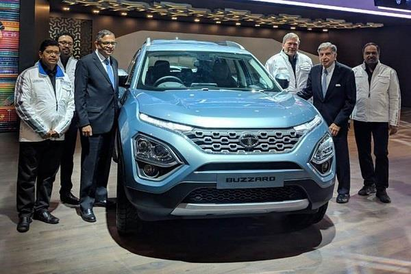 Geneva Motor Show: Tata की 7 सीटर Buzzard SUV पेश