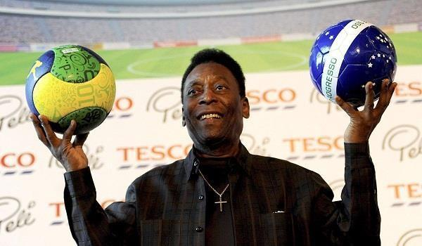 great footballer pelé