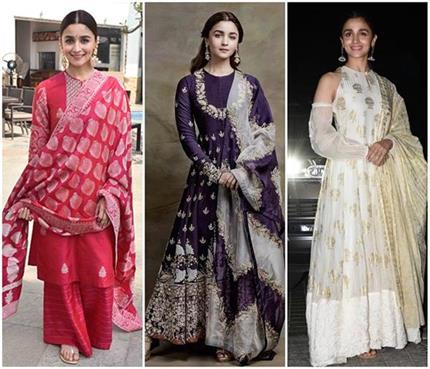 Fashion: आलिया की 10 ट्रडीशनल ड्रेसेज