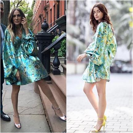 Fashion Faceoff: हॉलीवुड स्टार ने कॉपी किया आलिया का स्टाइल, आपको कौन...