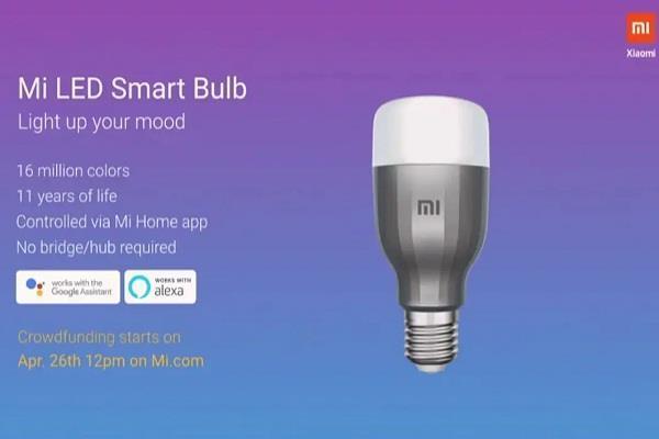 Xiaomi ने किया दावा, 11 साल तक काम करेगा Mi LED स्मार्ट बल्ब