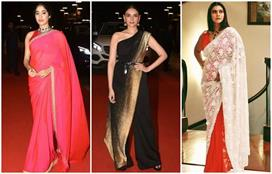 Dadasaheb Awards: साड़ी में जाह्नवी ने लूटी लाइमलाइट, वहीं...