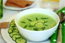 वजन तेजी से घटाएगा खीरे-पूदीने का सूप, जानें बनाने का तरीका
