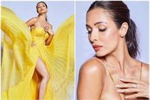 येलो आउटफिट बोल्ड अंदाज में मलाइका अरोड़ा ने शेयर की फोटो,...