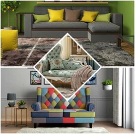 Furniture Trend! लेदर हो या फैब्रिक Sofa, देखिए यूनिक...