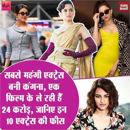 एक फिल्म का 24 करोड़ लेकर बॉलीवुड की महंगी एक्ट्रेस बनीं Kangana,...