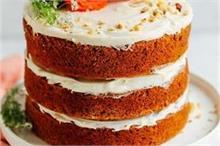 मदर्स डे पर मां के लिए मिनटों में बनाएं Italian Carrot Cake