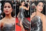 एक बार फिर हिना के Cannes Look ने मारी बाजी, जीत लिया विदेशियों का दिल