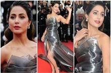एक बार फिर हिना के Cannes Look ने मारी बाजी, जीत लिया...