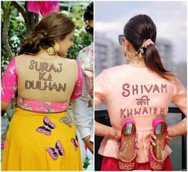 Bridal Fashion: मेहंदी सेरेमनी पर ट्राई करें Slogan स्टाइल...