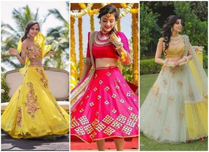 Bridal Fashion: मेहंदी के लिए बेस्ट 15 ड्रैसेज