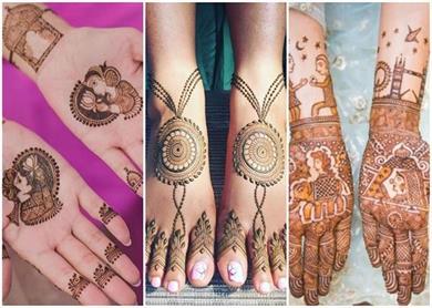 Simple Mehndi : सिपंल मेहंदी बनी दुल्हनों की पसंद, देखिए यूनिक...