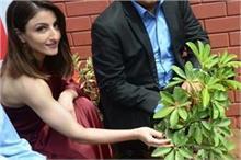 वन शोल्डर ड्रैस पहन इवेंट में पहुंची सोहा अली खान