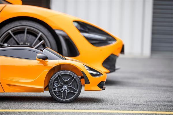 बच्चों के लिए McLaren ने बनाई छोटी 720S (देखें वीडियो)