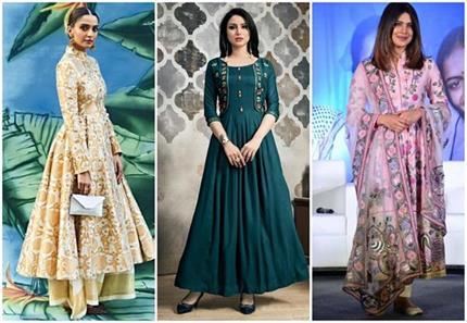 Fashion: अनारकली ड्रेस को दें मॉडर्न ट्विस्ट, देसी लुक में भी दिखेंगी...