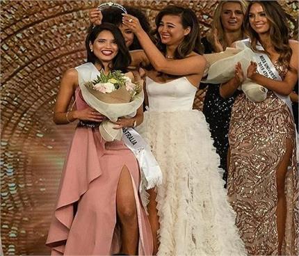 प्रिया सेराव ने 'मिस यूनिवर्स ऑस्ट्रेलिया 2019' का टाइटल किया अपने...
