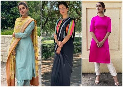 Fashion: सान्या मल्होत्रा की 10 एथनिक ड्रैसेज, व्हाइट वाली है सबसे...