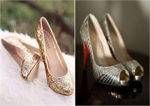 Fashion: ब्राइडल फुटवियर के लेटेस्ट डिजाइन्स (See Pics)