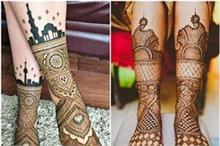 हाथ ही नहीं, पैरों के लिए भी चूज करें लेटेस्ट Henna Mehndi...