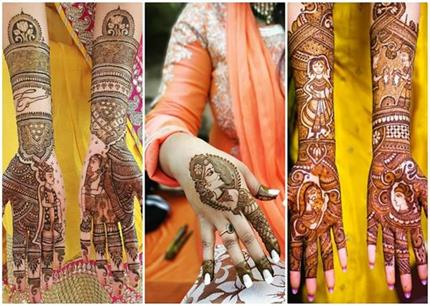 Dulhan Mehndi Designs एक ही नजर में आ जाएंगे पसंद , देखिए तस्वीरें