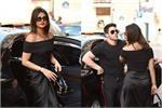 प्रियंका की Black Dress से फैंस हुए इंप्रेस, निक भी दिखे Handsome