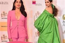 दीपिका की ड्रेस को लोगों ने कहा Raincoat तो Janhvi ने पैंट...