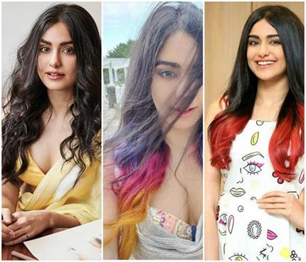 हेयर कलर एक्सपेरिमेंट गर्ल है अदा शर्मा, देखिए उनके बालों की 5...