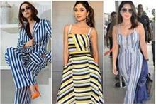 Fashion: स्ट्राइप ड्रेसेज ने की वापिसी, बॉलीवुड में छाया...