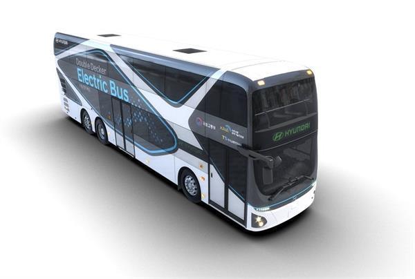 Hyundai ने लॉन्च की अपनी पहली इलैक्ट्रिक डबल डैकर बस