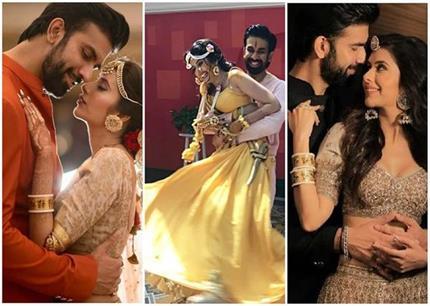 शुरू हुई सुष्मिता के भाई 'राजीव' की शादी, देखिए हल्दी से लेकर...
