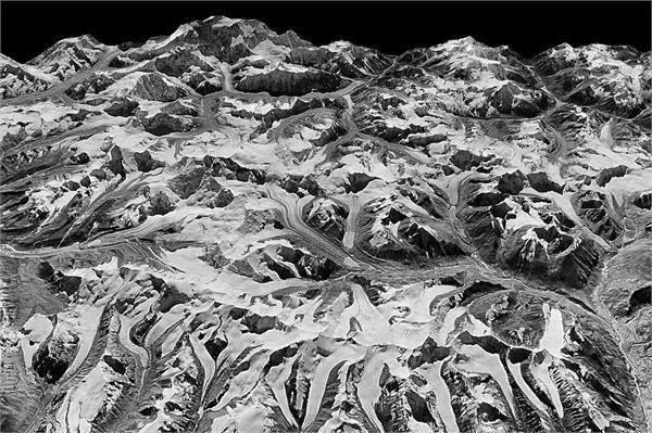 दशकों से पिघल रहे हिमालय के ग्लेशियर, सामने आई स्पाई सैटेलाइट इमेज
