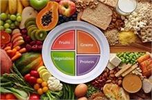 खाने की थाली में शामिल करें 50% फल व सब्जियां , बनी रहेगी...