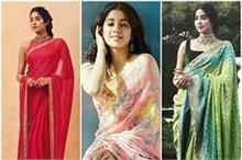 Girls Fashion: जाह्नवी की तरह ट्राई करें साड़ी, देखिए 7...