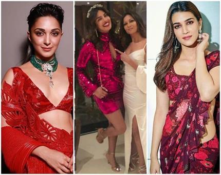 Fashion: बॉलीवुड में छाया 'मेहरुन रैड' का क्रेज, दीवाज की सेक्सी...