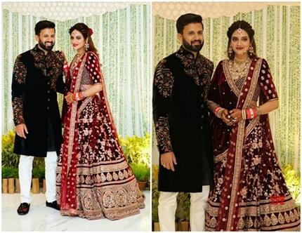 Wedding Reception: रॉयल अंदाज में नजर आईं नुसरत, मुख्यमंत्री ममता भी...