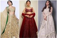 Bridal Fashion: फिर लौट आया मिरर वर्क का ट्रैंड, देखिए...