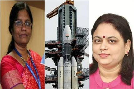 नारी बनी चंद्रयान-2 की शक्ति, मिशन की कामयाबी के पीछे 30% महिलाएं