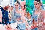 Bridal Fashion: लाल-पिंक नहीं, इस दुल्हन ने पहना ब्लू लहंगा, देखिए...