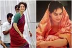 #SareeTwitter: प्रियंका ने शेयर की साड़ी में फोटो तो लोगों ने दी...