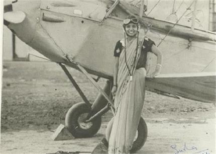 देश की पहली महिला पायलट 'सरला' जिन्होंने साड़ी पहन कर उड़ाया था...