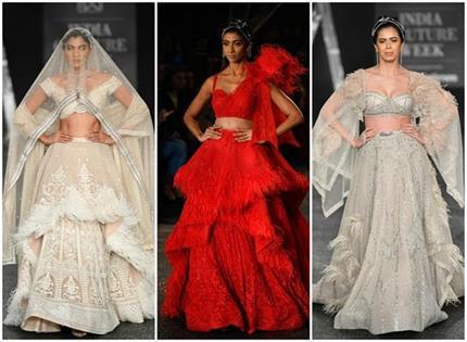 Latest Fashion: फॉल्गुनी शेन पिकॉक की 12 मॉडर्न ब्राइड आउटफिट्स