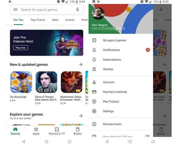 Google ने पेश किया गूगल प्ले स्टोर के लिए Material Theme