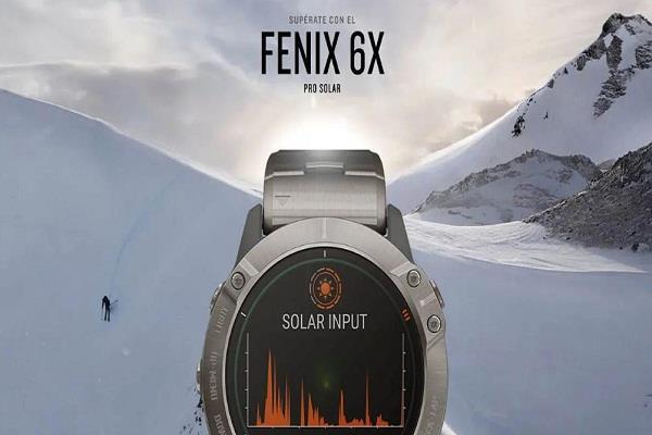 Garmin ने पार्शियल सोलर एनर्जी से पॉवर्ड Fenix 6X Pro Solar स्मार्टवॉच को किया लॉन्च