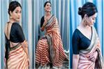 विदेश में नहीं भूली हीना खान भारतीय संस्कार, देसी पहरावे में जीता...
