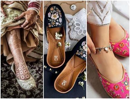 पंजाबी जूती के यह डिजाइन लंबी हाइट वाली लड़कियां करे ट्राई