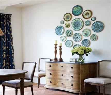 घर की दीवारों को दें Plate Decoration लुक, देखिए खूबसूरत तस्वीरें