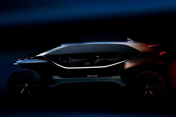 Audi द्वारा पेश हुआ Off-Road इलेक्ट्रिक कार का कांसेप्ट