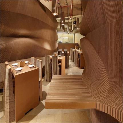 भारत का Eco Friendly कैफे, Cubboard से बनी हैं इंटीरियर की एक-एक चीज