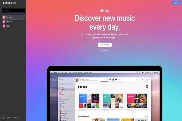 अब वेब ब्राउज़र पर Apple Music के संग सुनिए अपने मनपसंद गाने